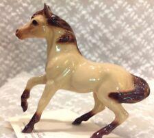 Vintage Hagen Renaker 1986 Miniature Horse Figurine - Buckskin Mare - Dark Point