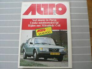 AUTOVISIE 1978-21 TEST SAAB 900 GLS,JODY SCHECKTER,MITSUBISHI COLT,SALON PARIS