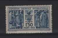 "FRANCE STAMP TIMBRE 274 "" EXPOSITION COLONIALE PARIS 1F50 "" NEUF xx LUXE  R814"