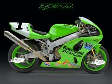 "24"" X 30"" High Definition PHOTOGRAPH Poster Doug Chandler Kawasaki ZX7RR Side"