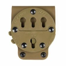 G-Code RTI Rotating Holster Tactical Belt Mount Platform Adapter Coyote Tan