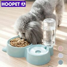 Pet Dog Bowls Feeder With Water Bottle for Dog Bowls Dogs Puppy Food Dispenser
