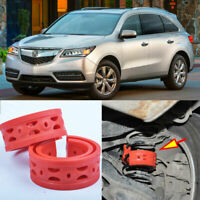 Front/Rear Car Auto Shock Absorber Spring Bumper Power Cushion Buffer D-Type Red