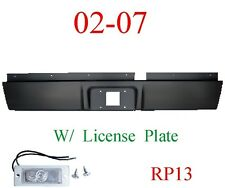 RP13 02 08 Dodge Ram Roll Pan Rear, With License Plate Light