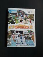 Deca Sports 2 (Nintendo Wii, 2009) Complete W/ Manual Kids Family Game Fun