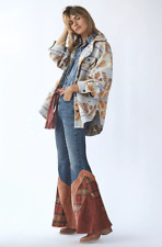 29 31  $168 Free People Jeans Belladonna Patchwork Ripped 27 30 28