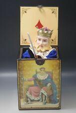 San Francisco Music Box The King Of Diamonds Box Le 194/3600 Jack In The Box