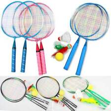 1 Set Badminton Tennis Racket Ball Kids Children Outdoor Sports Play Game Toys