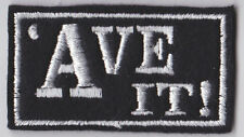 'AVE IT! PATCH BIKER TRIKER LADY MOTORCYCLE SEW ON BUY 5 PAY FOR 4!!