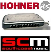 BRAND NEW HOHNER CHROMETTA 10 KEY OF C  253 / 40 HARMONICA BLUES / FOLK HARP