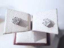 orecchini seven magic punti luce diamanti ct 0.40 F vvs oro bianco 18kt -30%