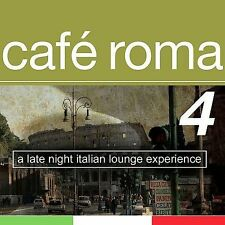 CAFE ROMA 4 A Late Night Italian Lounge Experience - VARIOUS ARTISTS CD