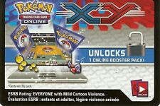 10x Pokemon XY Base Set Code Cards - XY-01 - TCGO Online Booster Pack
