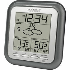 La Crosse Wireless Remote Titanium Weather Station Inside Outside Temperature