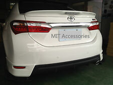 Toyota Corolla Altis ASIA 2014-on ABS LED rear trunk lip spoiler-color Painted