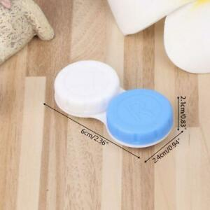 Contact Lens Box Holder Plastic Objective Travel Portable Case Storage Container