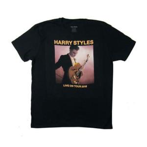 Harry Styles Live On Tour 2018 Black T Shirt