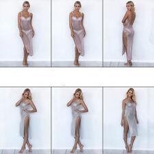 Crochet V-Neck Long Sleeve Dresses for Women