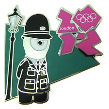 2012 London Olympic Games Wenlock Police Pin Badge