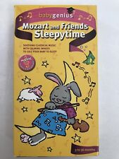 Baby Genius Mozart and Friends Sleepytime VHS Tape 3-36 Mos Classical Music