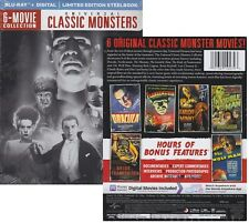 Universal Classic Monsters Limited Edition Steelbook 6-Movie Collection