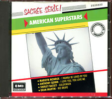 AMERICAN SUPERSTARS - COLLECTION SACREE SERIE - CD COMPILATION [670]
