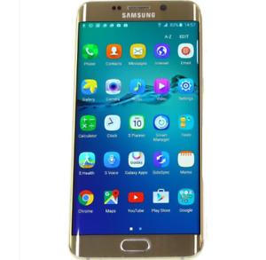 Samsung Galaxy S7 SM-G935F 32GB Edge Smartphone In Black/Gold +Accessories Gift