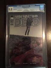 The Walking Dead #100___CGC 9.8___Chromium Variant Edition___1st Negan