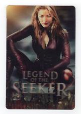 Tabrett Bethell {Legend of the Seeker} iTune 2009 Hologram card (3 X 4 1/4 in)
