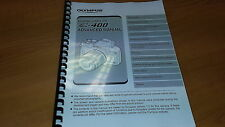 OLYMPUS E-400 DIGITAL CAMERA PRINTED INSTRUCTION MANUAL USER GUIDE 164 PAGES