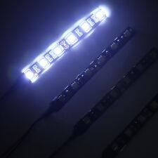 4 X 10cm 6LED 5050 Strip Light for Car Van Boat SWB White Blue Red Orange 12V