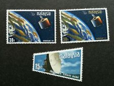 Malaysia Satellite Earth Station 1970 Space Astronomy (stamp) MNH *odd *unusual