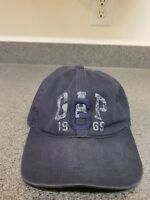 Gap Hat Cap Relaxed Men's Womens Navy Blue Adjustable Medium/Large