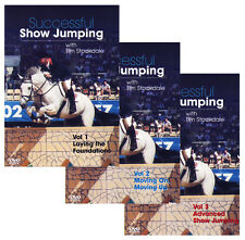 DVD Successful Showjumping Show Jumping Eventing Horse Training Vol 1, 2 & 3