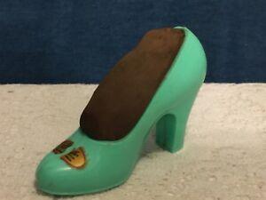 Vintage Pin Cup Shoe Grace Walker~by Freidman & Shelby~Orig Sticker~Pin Cushion