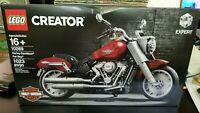 Lego Creator Expert 10269 Harley Davidson Fat Boy Motorcycle SEALED BRAND NEW