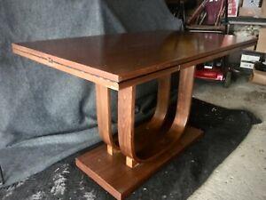 Rare Gilbert Rohde for Heywood Wakefield  Walnut Dining Table,1933 / Deskey era