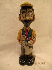 1930's Working B.O. Plenty Marx Wind Up Motion Tin Toy With Baby Sparkle