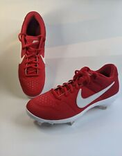 New Nike Alpha Huarache Varsity LOW Metal Baseball Cleats size 9