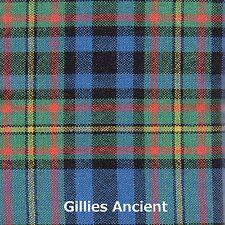 Tartan Sash Clan Gillies Ancient Ladies Scottish Wool Plaid