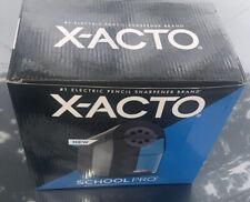 X Acto Pencil Sharpener School Pro Electric Pencil Sharpener New Six Size Dial