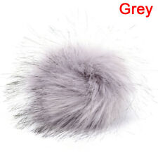 Faux Fur PomPom DIY Car Handbag Keychain Fluffy Ball Pendant Accessories LL