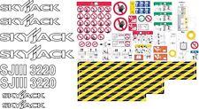 Skyjack SJIII 3220 Scissor Lift Aftermarket Decal Kit