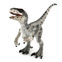 Velociraptor Figure Raptor Dinosaur Model Animal Toy Collector Decor Kids Gift
