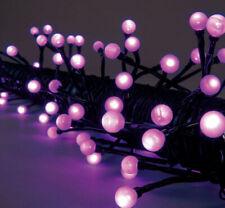18m LED Party Perlen-Lichterkette Con 80 Sfere Giardino Birra Esterno 230V IP44