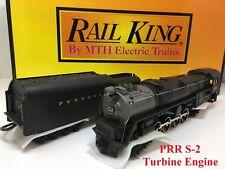 Rail King MTH 30-1149-1 Pennsylvania Cab #6200 S-2 Turbine Engine Proto-Sound O