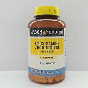 180 Capsules GLUCOSAMINE 1500 mg CHONDROITIN 1200 mg Vitamin C 198 mg Sodium 51