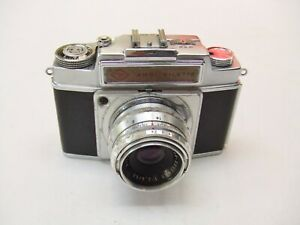 AGFA  AMBI-SILETTE CAMERA WITH f2.8 50mm COLOR -SOLINAR LENS