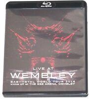 BABYMETAL  Live At WEMBLEY Arena: World Tour 2016 Blu-ray Region A  Japan FS