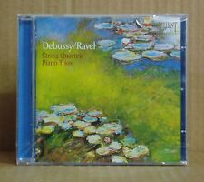 2CD Carmina Quartet Debussy Ravel String Quartets Piano Trios Brilliant neu ovp
